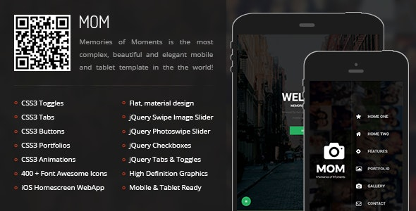 Mom Mobile - Mobile Site Templates