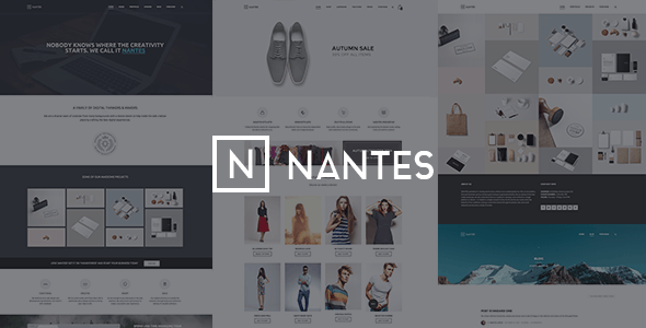 Nantes - Creative Ecommerce & Corporate Theme - WooCommerce eCommerce