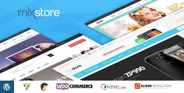 MixStore - MultiShop WooCommerce Theme - WooCommerce eCommerce