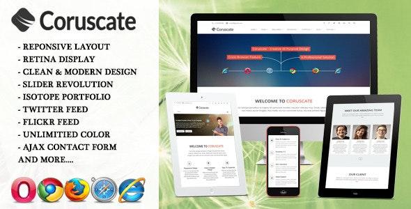 Coruscate - Multi-Purpose Joomla Template - Business Corporate