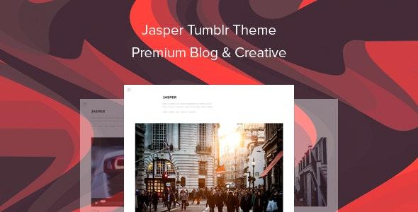 Jasper Tumblr Theme Premium Blog & Creative - Blog Tumblr