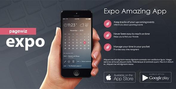 Expo Pagewiz Product Landing Page. - Pagewiz Marketing