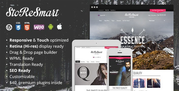 StoReSmart | Multipurpose Ecommerce Theme - WooCommerce eCommerce