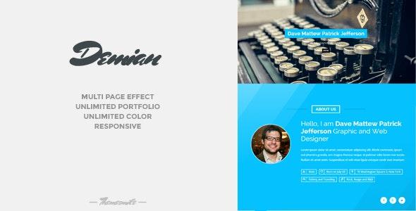 Artist WordPress Theme  - Portfolio Creative