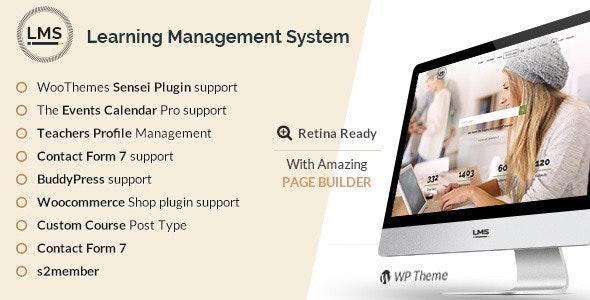 LMS | Learning Management System, Education WordPress Theme - Education WordPress