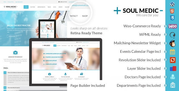 SoulMedic | Hospital & Doctor WordPress Theme - Health & Beauty Retail