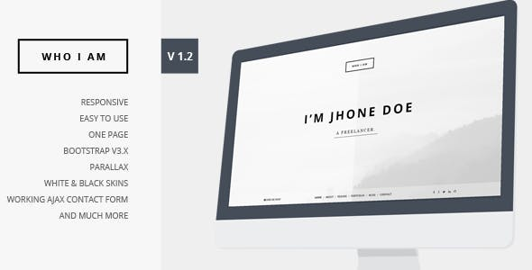 Black And White Html Website Templates From Themeforest