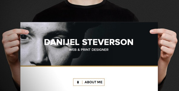 Online Resume Template  - Personal Muse Templates