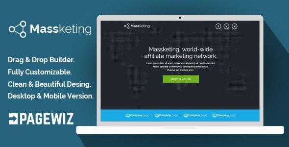 Massketing - Pagewiz Landing Page Template - Pagewiz Marketing