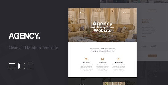 Agency - Corporate HTML5 Template - Business Corporate