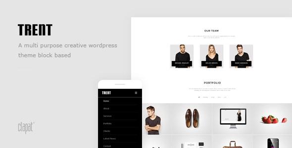Trent - Wordpress Responsive One Page Parallax - Creative WordPress