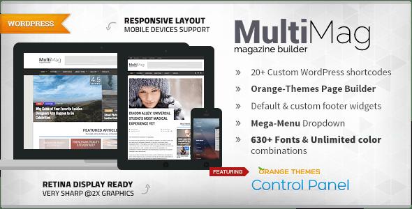 MultiMag - Multipurpose Magazine Theme - News / Editorial Blog / Magazine