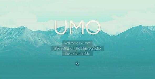 UMO Folio - A One Page Portfolio Theme For Tumblr