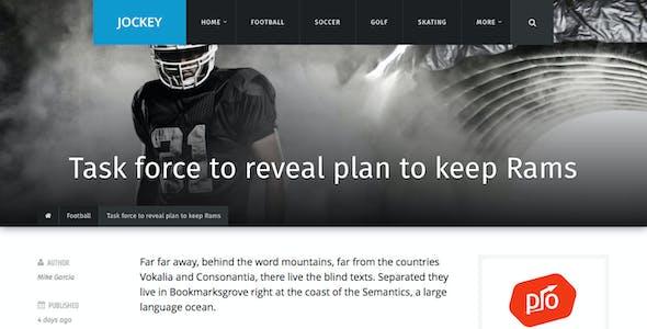 Jockey - Sports Magazine & News Theme