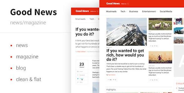 Good News — News & Magazine Template