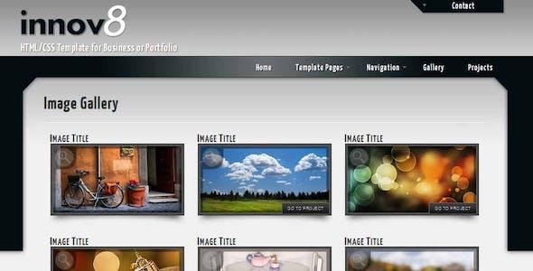innov8 - HTML/CSS for Business or Portfolio