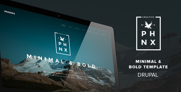 Phoenix - Minimal Multipurpose Portfolio Themes - Portfolio Creative