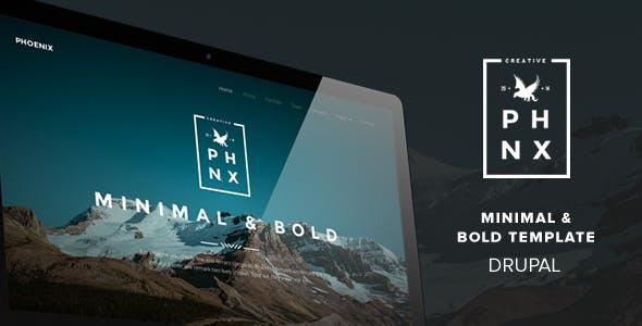 Phoenix - Minimal Multipurpose Portfolio Themes