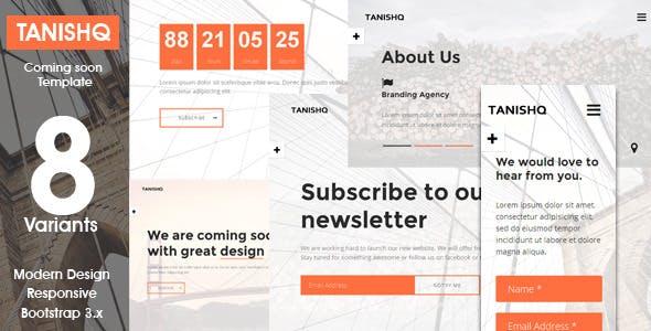 Tanishq - Responsive Coming Soon Template