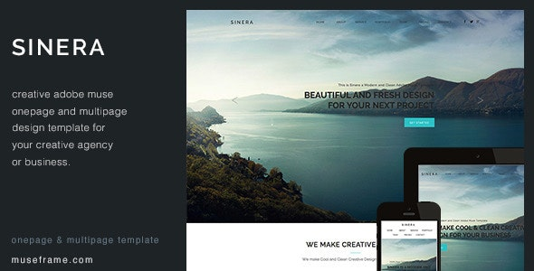 Sinera - Creative Muse Template - Creative Muse Templates