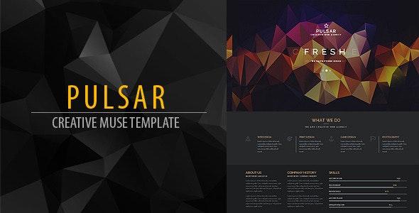 Pulsar Creative Muse Web Template - Creative Muse Templates