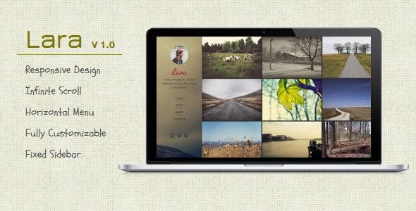 Lara - Blogger Template For Photographers - Blogger Blogging