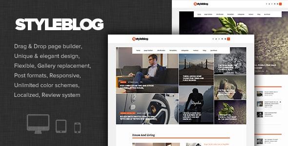 StyleBlog - Modern Personal, News WordPress Theme - Personal Blog / Magazine
