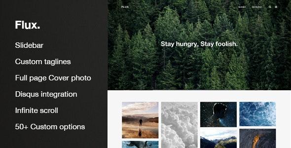 Flux - Responsive Multi-Purpose Theme - Tumblr Blogging
