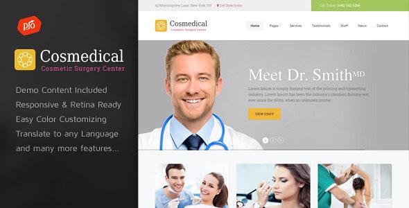 Cosmedical - Health & Medical WordPress Theme - Health & Beauty Retail