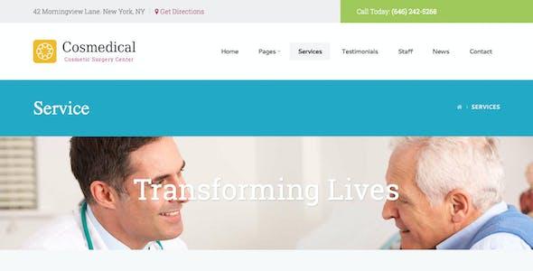 Cosmedical - Health & Medical WordPress Theme