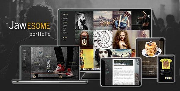 JaWesome - Design & Product Portfolio Theme - Portfolio Creative