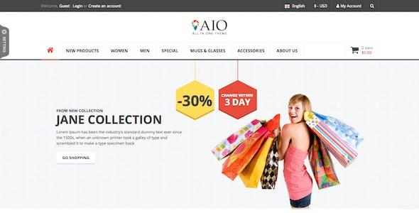 SNS AIO - Responsive Multipurpose Magento Theme