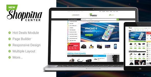 Ves Newshopping Responsive Magento Theme  - Shopping Magento