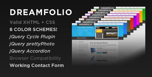 DreamFolio - Business & Portfolio - Creative Site Templates