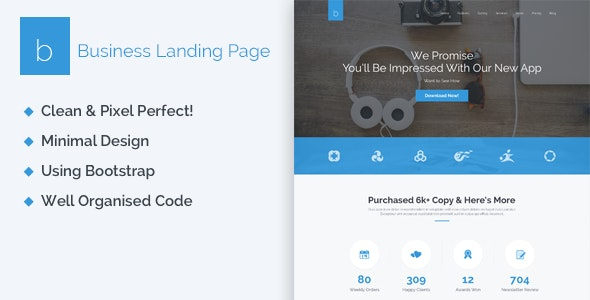 Business - Creative HTML5 Landing Page - Business Corporate