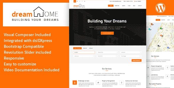 Dream Home - Real Estate WordPress Theme - Real Estate WordPress