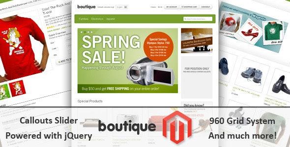 Boutique - Magento Theme - Miscellaneous Magento