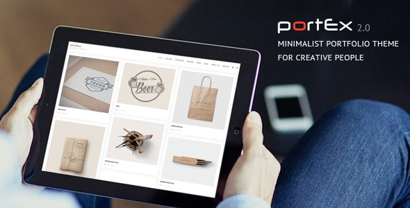 Portex - Photography Portfolio WordPress Theme - Photography Creative