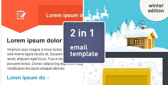 Bubble Email Template - Newsletters Email Templates