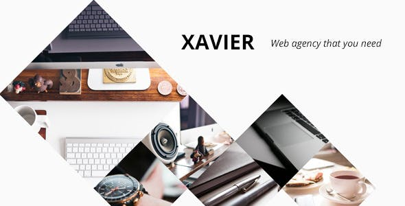 Xavier - Portfolio and Agency WordPress theme