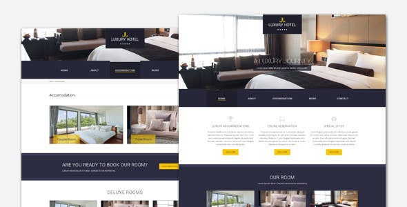 Luxury - Hotel and Resort WordPress Theme - Travel Retail