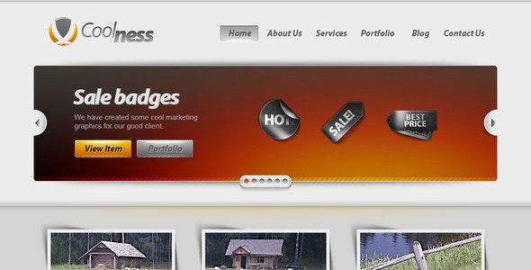 Corporate Web2 Site (Blog & Portfolio) - Corporate Photoshop