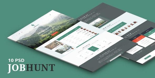 JobHunt - Elegant Job Board PSD Template - Miscellaneous Photoshop