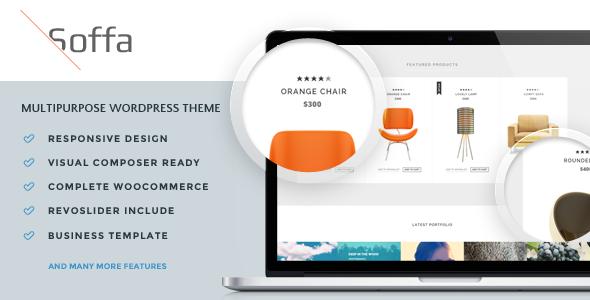 Soffa - Furniture & Business WordPress Theme - WooCommerce eCommerce