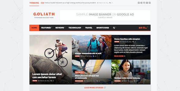 Goliath - Ads Optimized News & Reviews Magazine