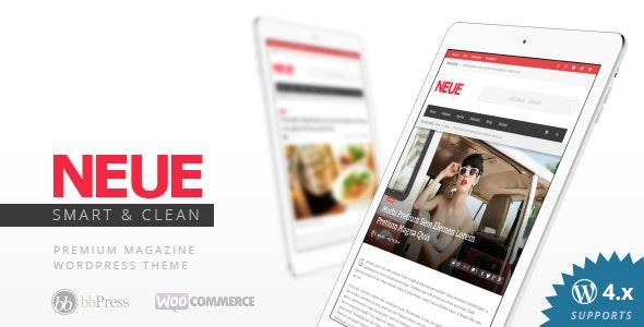 NEUE - Smart & Modern Magazine Theme - News / Editorial Blog / Magazine