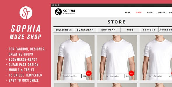 Download Sophia - Clean Muse Ecommerce
