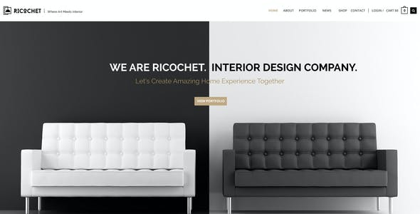 Interior Design PSD Files and Photoshop Templates