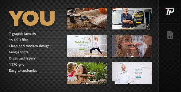 You - Personal PSD Template - Personal Photoshop