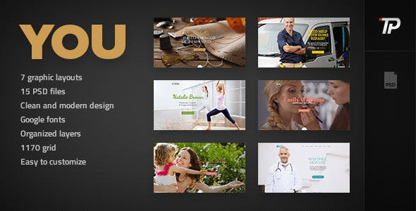 You - Personal PSD Template